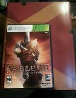 Fable III Limited Collector's Edition Game and Collectors Edition Strategy Guide