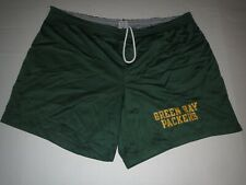 Vtg Champion Green Bay Packers Gym Shorts Jersey XL Waist (40-42)