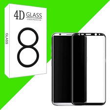 3D Samsung Galaxy S8 Panzerglas Schutzglas Curved Glasfolie Displayschutz 9H