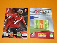Y. M'VILA ROAZHON STADE RENNES FOOTBALL FOOT ADRENALYN CARD PANINI 2010-2011