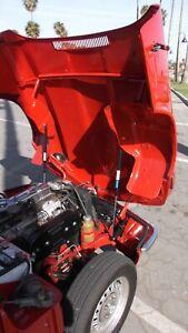 Triumph Spitfire 1970 - 1980 Bonnet easy Lift Kit built in Gas struts 1500