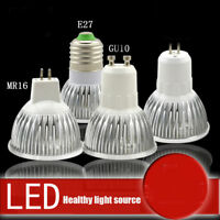 Ultra Bright MR16/GU10/E27/E14 Dimmable LED Spotlight Bulbs Lamp 3W 5W Decor