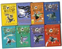 Jill Murphy The Worst Witch Collection 8 Books Set- The Worst Witch,The Worst