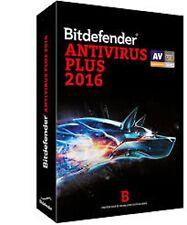 BITDEFENDER ANTIVIRUS PLUS  2015   1 AÑOS 1 PC (CLAVE ORIGINA NUEVAL)