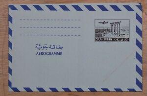 Mayfairstamps Lebanon 50p Mint Stationery Aerogramme wwp69