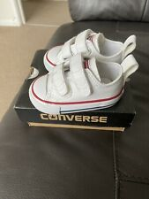 Baby Converse Leather Size 2