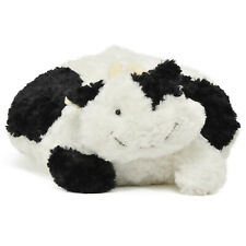 Unipak Roundy Pals Cow Black White 16 Inch Animal Plush NEW IN STOCK