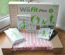 NINTENDO OFFICIAL WII FIT PLUS BALANCE BOARD +GAME BOXED WORKS WII & WiiU