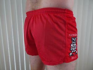 Tamatea R.L.C Red Footy Shorts Size 32 Small KooGa Brand