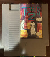 Nintendo NES Tetris 2 Video Game Cartridge *Authentic/Cleaned/Tested*