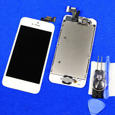 LCD Display Touch Screen Digitizer Assembly +Home Button + Tools For iPhone 5 5G