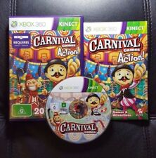 Carnival Games in Action (Microsoft Xbox 360, 2011) Xbox 360 Kinect Game