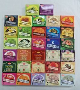 HEM Incense Cones Pack of 10 Cones - Mix and Match Scents - BUY 3 GET 1 FREE!