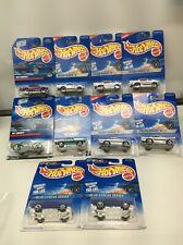 Hot Wheels Silver Series 2 Chevy Collectors Cars NIB 2B168