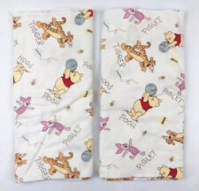 Disney Winnie the Pooh Baby Receiving Blankets Tigger Piglet Bees Cotton