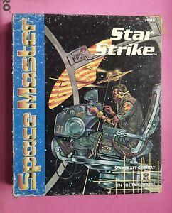 STAR STRIKE - 1988 SPACE MASTER BOX SET I.C.E IRON CROWN ROLEPLAYING RPG WARGAME
