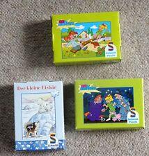3 Minipuzzle Bibi Blocksberg (2), Der kleine Eisbär, je 54 Teile, Schmidt