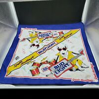 1988 SPUDS MacKenzie BUD LIGHT bandana sign drums guitar Budweiser Beer Dog 🐕