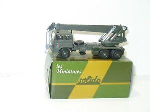 Solido, Truck Military Renault G260 Crane Version Verem
