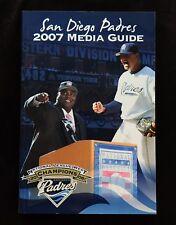 2007 San Diego Padres Media Guide. Tony Gwynn, Trevor Hoffman. Hall of Fame.