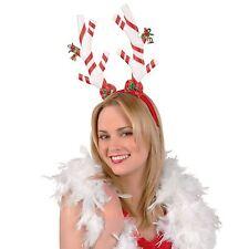Candy Natale Lusso Felpa Corna da renna Fascia per Costume Testa POPPER