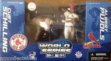 McFarlane MLB world series 2-pack-schilling vs pujols-figurneu/OV