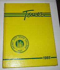 1985 JERSEY CITY STATE COLLEGE YEARBOOK - TOWER 1985 - NJ