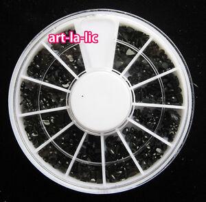 3D Nail Art Rhinestones Glitters Acrylic Tips Decoration Manicure Wheel New Hot