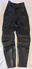 BELSTAFF Motorcycle Motorbike Bike Biker Leather Trousers Size UK 8 - 10