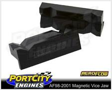 Aeroflow Alloy Magnetic Vice Jaws for AN Fittings Black AF98-2001