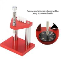 Watch Repair Tool Hand Remover Plunger Puller Press Set Fitting Kit Watchmaker