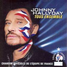 CD single Johnny HALLYDAY Tous ensemble 9838233 football 2002 neuf scelle