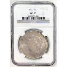 1922 Peace Dollar NGC MS65 #5031113
