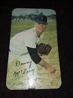 1970 Topps Super Baseball #17 Denny McLain Very Good