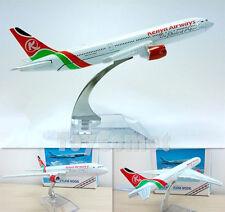 Kenya Airways Boeing 777 Airplane 16cm DieCast Plane Model