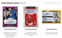 2019-20 PANINI PRIZM EPL SOCCER LIVE PICK YOUR PLAYER (PYP) 1 BOX BREAK #1