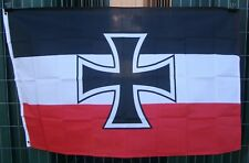 German Jack flag German military flag Germany flag historic flag