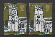 1972 Village Churches. SG905b. 4d violet omitted error. Unmounted mint. Cat £280