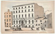SUPER Lithograph Print - Metropolitan Police Station NYPD New York NY - 1863