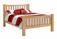 Oakland Oak 4ft 6 Double Oak Bed / Bedstead NEW *CLEARANCE ITEM* Solid Wood