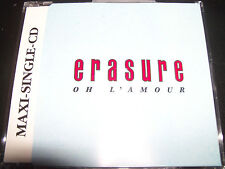 Erasure Oh L'Amour UK CD Single  – Like New