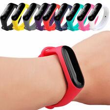 Silicone Bracelet Strap Wristband Wrist Band For Xiaomi Mi Band 3