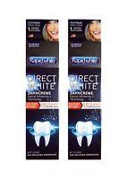2x Rapid white Direct white Zahncreme sofort Effekt 75 ml Whitening Bleaching