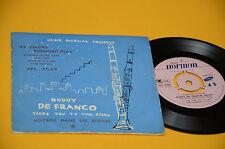 """BUDDY DE FRANCO QUARTET EP 7"""" VOYAGE DANS LES ETOILES TOP JAZZ FRANCE '50 EX"""