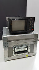 JVC TM-22U Video Color Monitor and Steel Protective Case