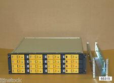 Hp 3PAR y 16 compartimentos San f-class arreglo de almacenamiento 12x 300 GB, 15.000 de 4gb Hdd 2x Cont,2 X Ps