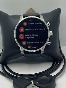 Fossil Gen 4 Authentic Digital Dial Smart Watch Custom Band FTW4015 QT641