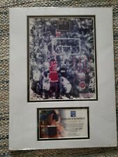 MICHAEL JORDAN LAST SHOT PIECE OF THE ACTUAL COURT READY TO FRAME