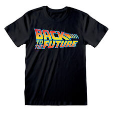 Official Back To The Future Logo T Shirt S M L XL XXL