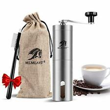 MLMLANT Stainless Steel Manual Coffee Grinder